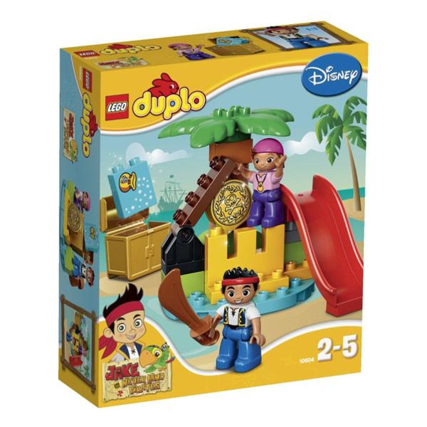 Lego Duplo 10604 Лего Дупло Джейк Остров сокровищ