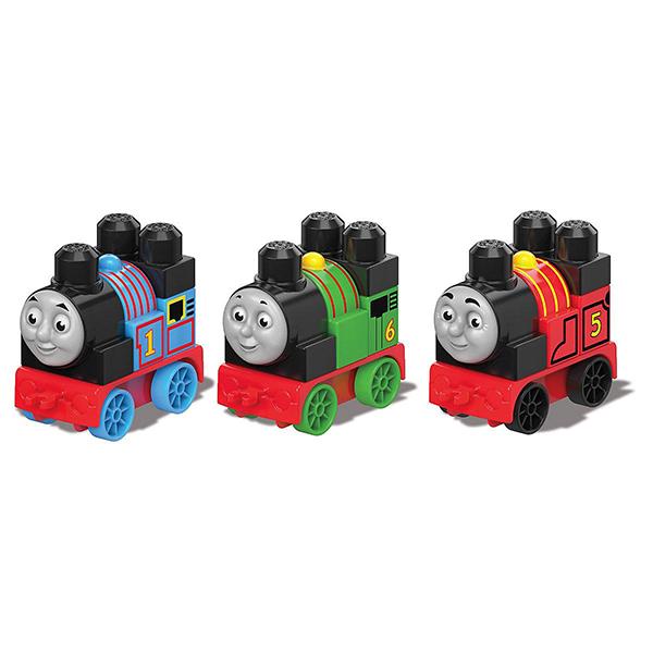 Купить Mattel Mega Bloks DXH47 Мега Блокс Томас и друзья: паровозики (в ассортименте), Конструктор Mattel Mega Bloks
