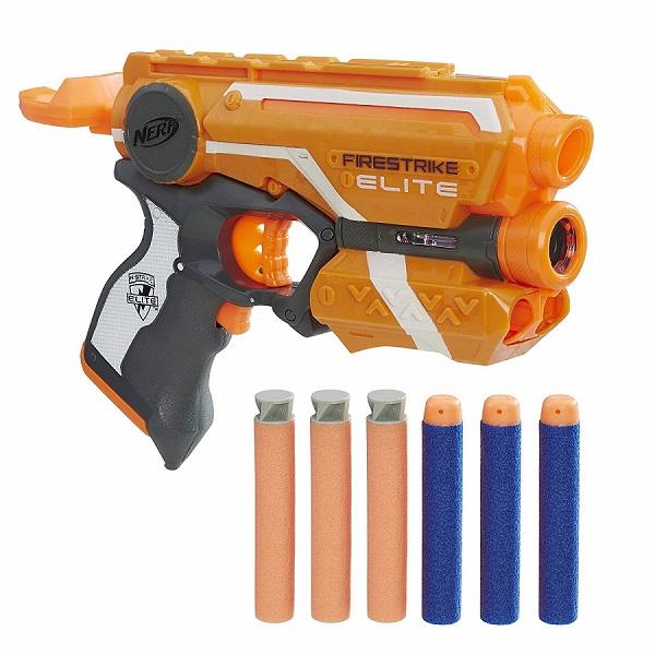 Купить Hasbro Nerf E0441 Нерф Бластер Элит акк Файстрайк, Игрушечное оружие и бластеры Hasbro Nerf