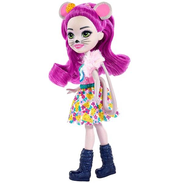 Mattel Enchantimals FXM76 Кукла с питомцем Мышка Майла - Куклы и аксессуары