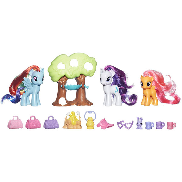 Hasbro My Little Pony B3715 Май Литл Пони Путешествие в кемпинг