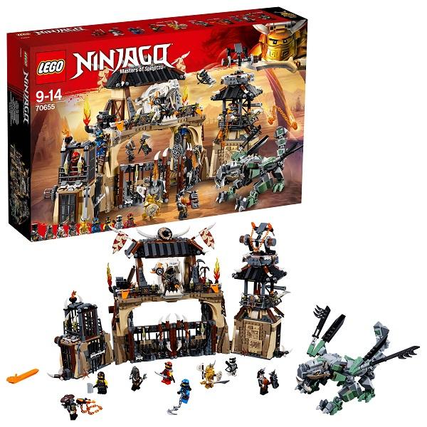 Купить LEGO Ninjago 70655 Конструктор ЛЕГО Ниндзяго Пещера Драконов, Конструкторы LEGO