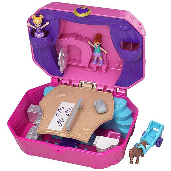 Купить Mattel Polly Pocket GCJ88 Игровой набор Мир Полли , Игровые наборы и фигурки для детей Mattel Polly Pocket