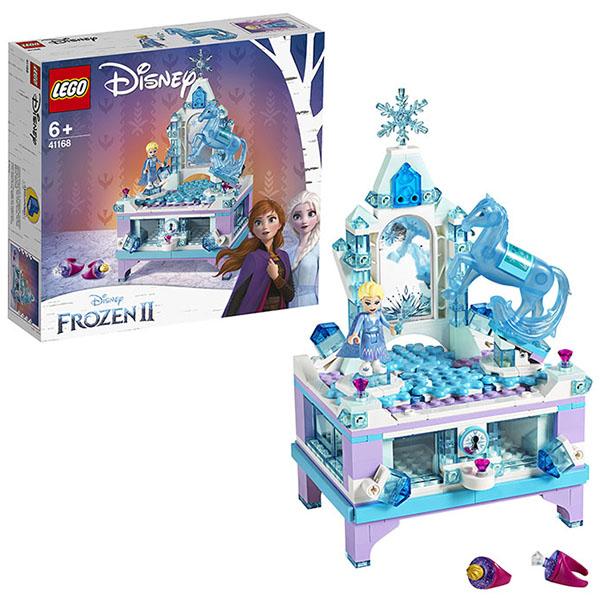 Купить LEGO Disney Princess 41168 Конструктор ЛЕГО Принцессы Дисней Шкатулка Эльзы, Конструкторы LEGO