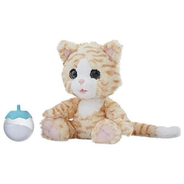 Купить Hasbro Furreal Friends E0418 Покорми Котёнка, Интерактивная игрушка Hasbro Furreal Friends