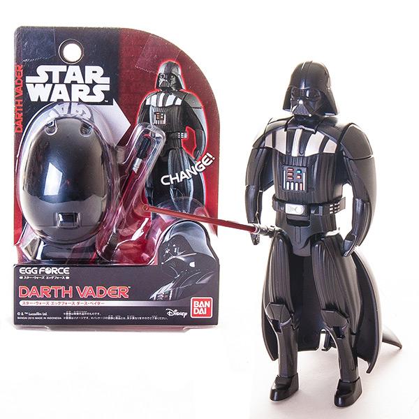 Купить Star Wars Bandai 84545 Звездные Войны Яйцо-Трансформер Дарт Вейдер, Фигурка трансформер Star Wars Bandai