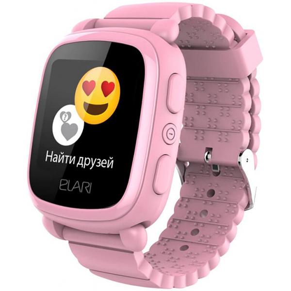 Гаджеты и безопасность Elari ELKP2PNK Часы KidPhone 2 розовые фото