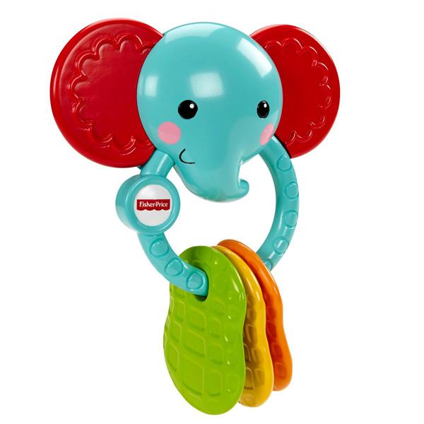 """Mattel Fisher-Price CGR95 Фишер Прайс Прорезыватель """"Слоник"""""""