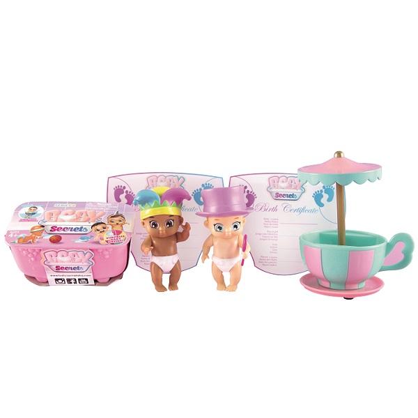 Zapf Creation Baby Secrets 930-335 Бэби Секрет Набор с каруселью, арт:155675 - Мини наборы, Игровые наборы