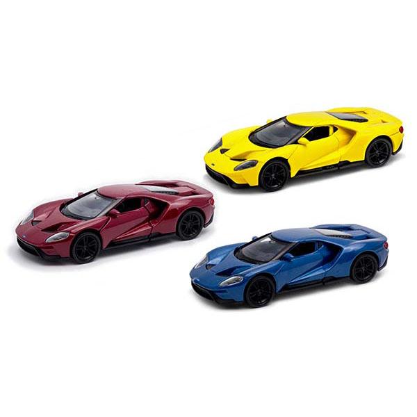 Купить Welly 43748 Велли Модель машины 1:38 Ford GT, Игрушечные машинки и техника Welly