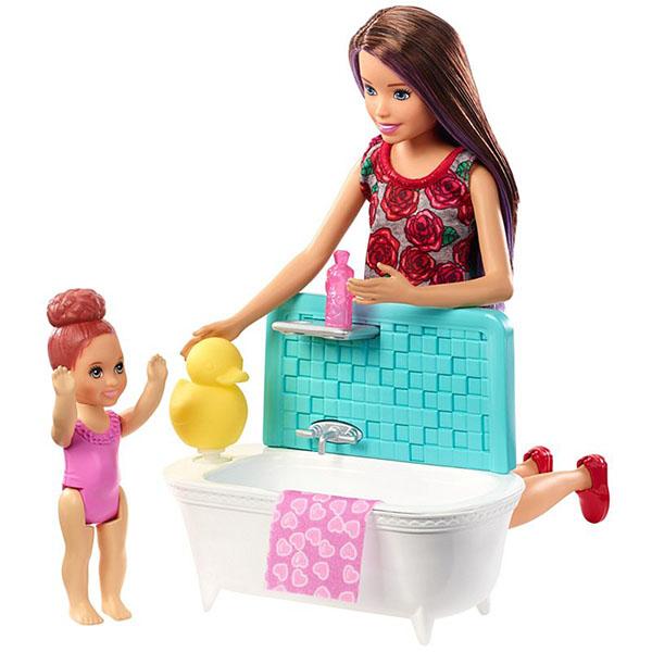 Купить Mattel Barbie FXH05 Набор Няня (в ассортименте), Куклы и пупсы Mattel Barbie