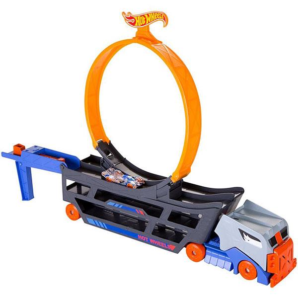 Купить Mattel Hot Wheels GCK38 Хот Вилс Трюковой тягач, Игровые наборы Mattel Hot Wheels