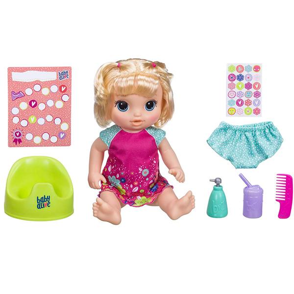 Hasbro Baby Alive E0609 Кукла Блондинка Танцующая Малышка - Интерактивные игрушки