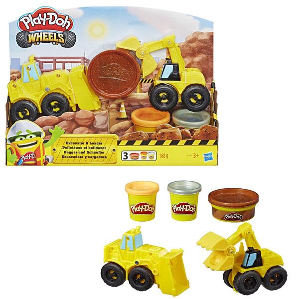 Купить Hasbro Play-Doh E4294 Плей-До Экскаватор, Игровые наборы Hasbro Play-Doh