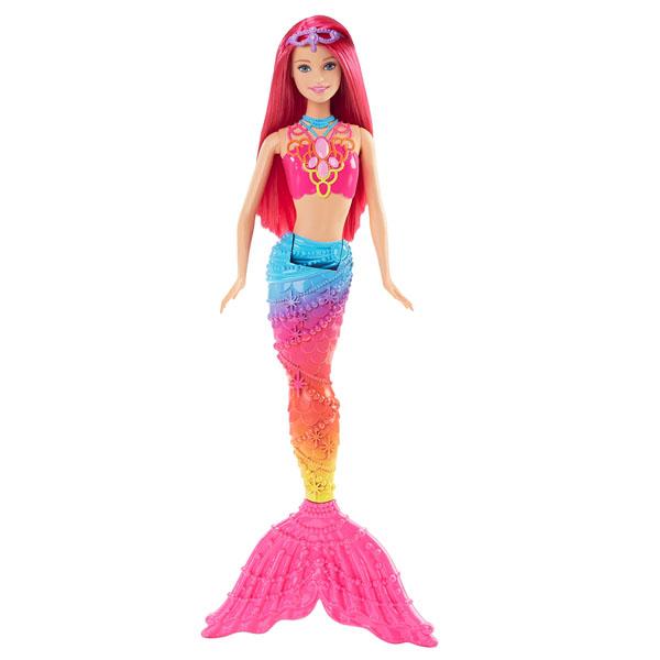 Купить Mattel Barbie DHM47 Барби Радужные русалочки, Куклы и пупсы Mattel Barbie, Mattel Barbie
