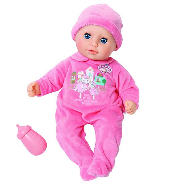 Куклы и пупсы Zapf Creation Zapf Creation Baby Annabell 702-550 Бэби Аннабель Кукла с бутылочкой, 36 см, дисплей по цене 2 499