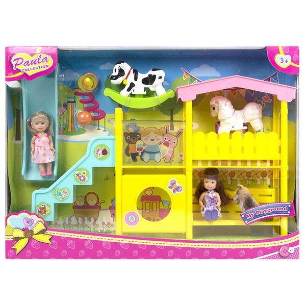 Купить Paula MC23305 Игровой набор Горка , Игровые наборы и фигурки для детей Paula