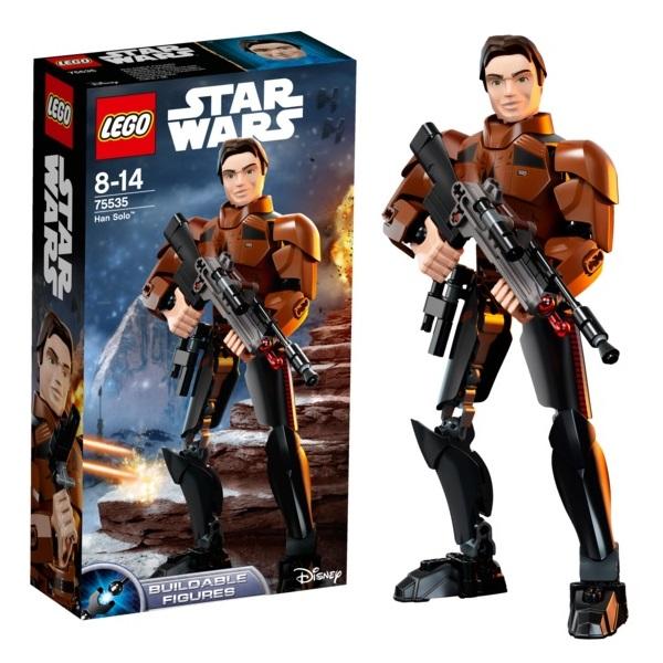 Купить LEGO Star Wars 75535 Конструктор ЛЕГО Звездные Войны Хан Соло, Конструкторы LEGO