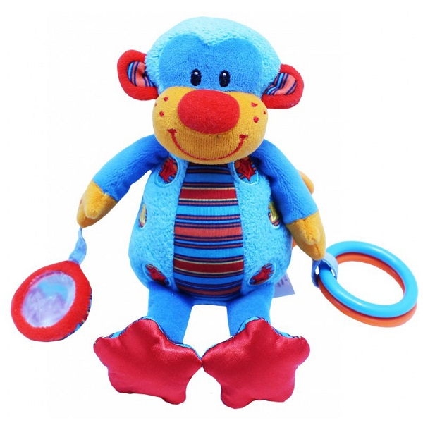 Купить ROXY-KIDS RBT100150А Игрушка развивающая Мартышка Мо со звуком, Развивающие игрушки для малышей ROXY-KIDS