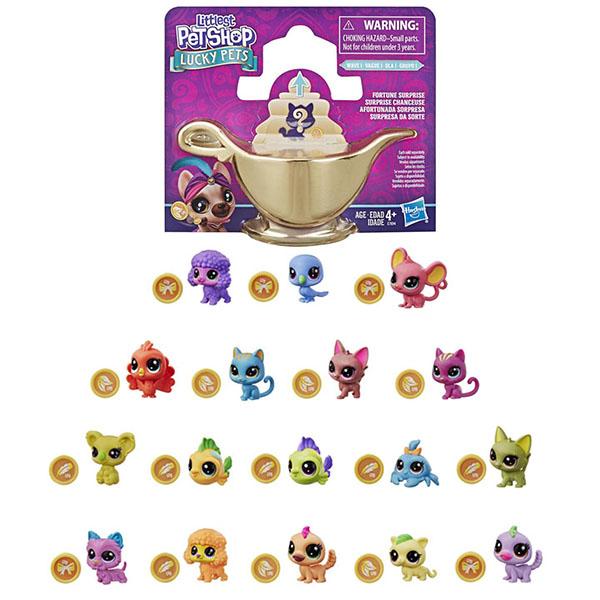 Купить Hasbro Littlest Pet Shop E7894 Литлс Пет Шоп Мини-пет с предсказанием, Игровые наборы и фигурки для детей Hasbro Littlest Pet Shop