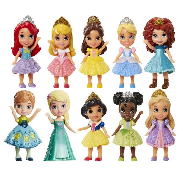 Купить Disney Princess 758960 Принцессы Дисней Малышка 7, 5 см (в ассортименте), Кукла Disney Princess