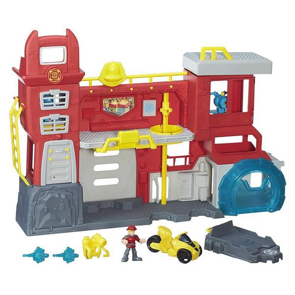 Игровой набор Hasbro Playskool Heroes Playskool Heroes B5210 Трансформеры Спасатели: Штаб спасателей