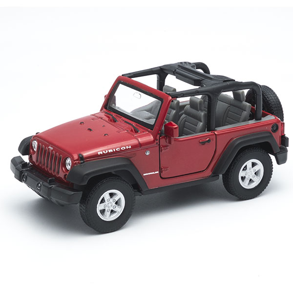 Игрушечные машинки и техника Welly 42371 Велли Модель машины 1:34-39 Jeep Wrangler Rubicon