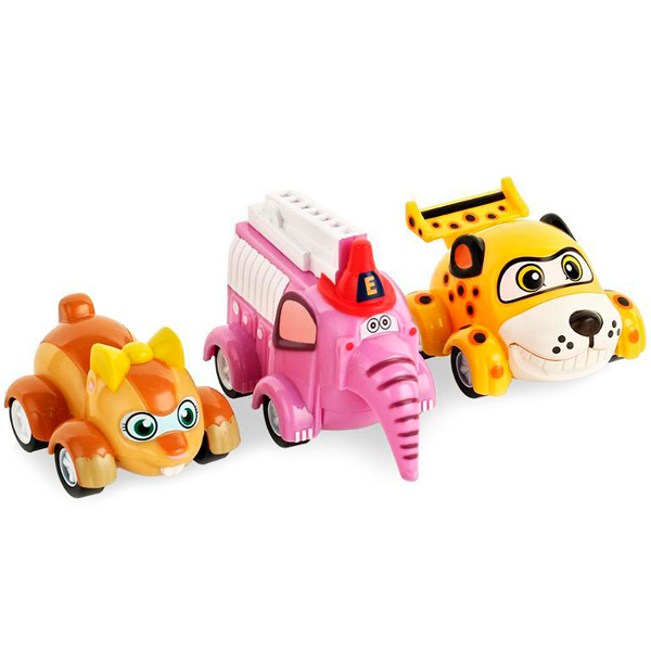 Набор машинок Vroomiz - Машинки для малышей (1-3), артикул:120532