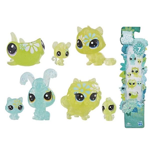 Купить Hasbro Littlest Pet Shop E5149 Литлс Пет Шоп Игровой набор 7 ЦВЕТОЧНЫХ ПЕТОВ , Игровые наборы и фигурки для детей Hasbro Littlest Pet Shop
