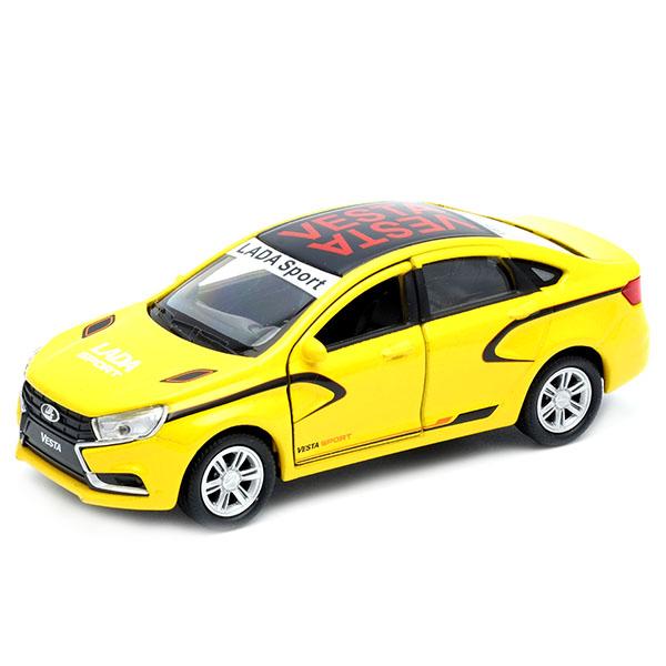 Купить Welly 43727RY Велли Модель машины 1:34-39 LADA Vesta Спорт , Машинка Welly