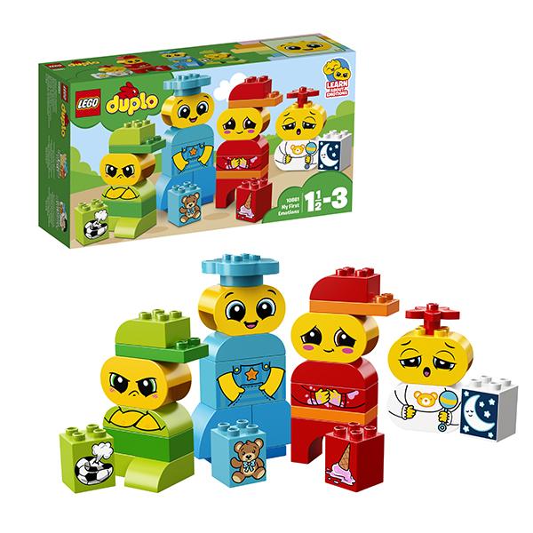 Купить LEGO DUPLO 10861 Конструктор ЛЕГО ДУПЛО Мои первые эмоции, Конструкторы LEGO