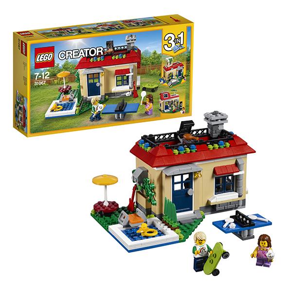 Lego Creator 31067 Конструктор Лего Криэйтор Вечеринка у бассейна, арт:149795 - Криэйтор, Конструкторы LEGO
