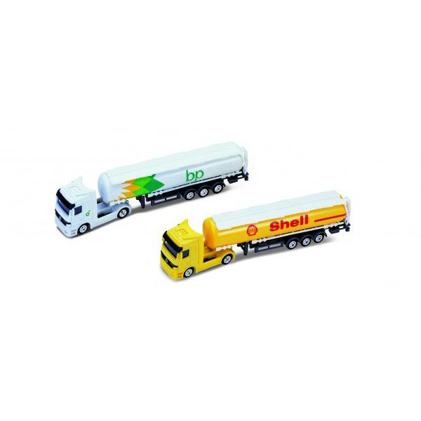 Welly 72133 Велли Модель грузовика 1:87 Mercedes-Benz Actros (BP и Shell) - Транспорт