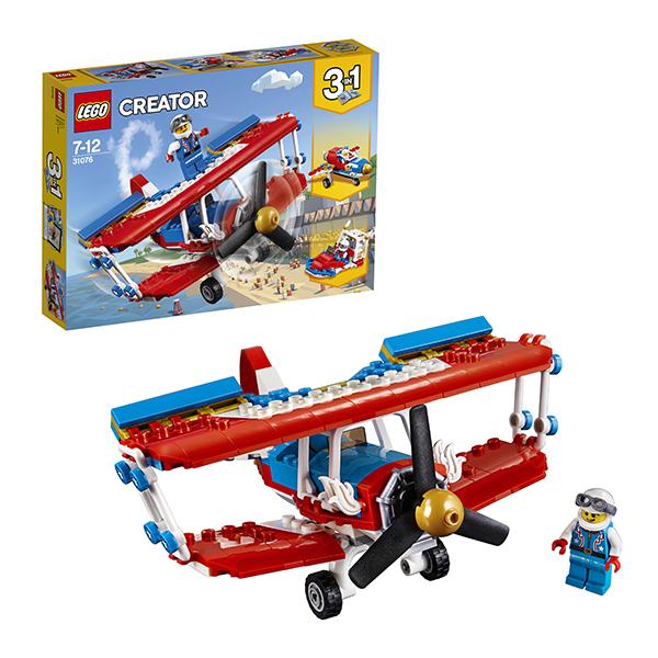 Lego Creator 31076 Конструктор Лего Криэйтор Самолёт для крутых трюков, арт:152434 - Криэйтор, Конструкторы LEGO