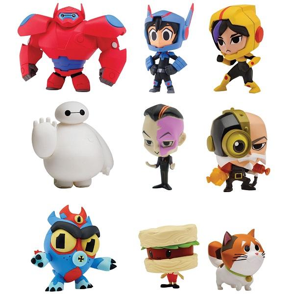 Купить Big Hero 6 The Series 41230L Биг Хиро 6 Микрофигурка 3 - 5 см (в ассортименте), Игровые наборы и фигурки для детей Спиннеры