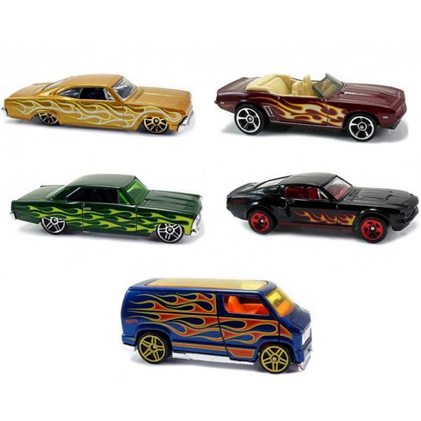 Mattel Hot Wheels 1806 Хот Вилс Подарочный набор из пяти машинок (в ассортименте), Набор машинок Mattel Hot Wheels  - купить со скидкой
