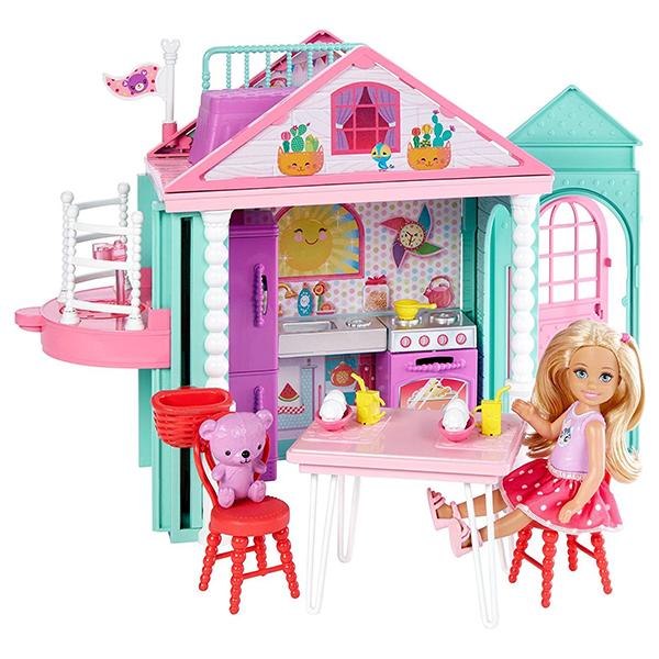 Купить Mattel Barbie DWJ50 Барби Домик Челси, Кукольный домик Mattel Barbie