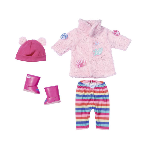 Купить Zapf Creation Baby born 826-959 Бэби Борн Одежда Зимняя для модниц, Одежда для куклы Zapf Creation