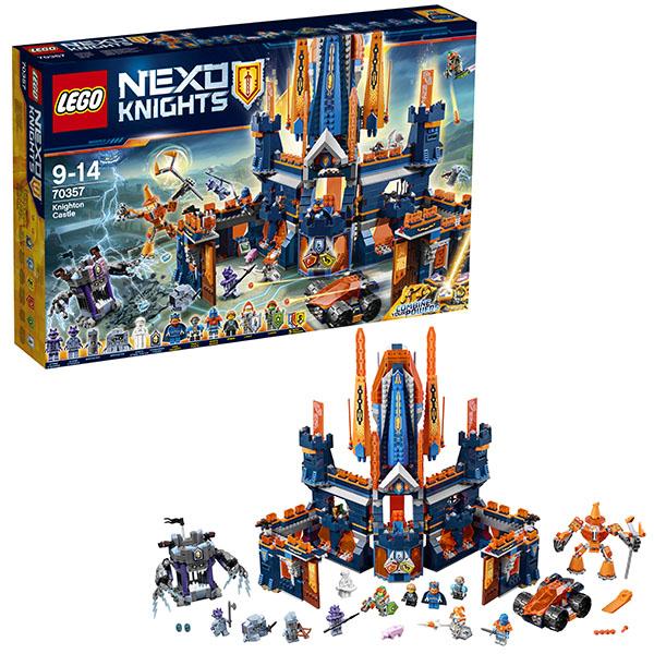 Lego Nexo Knights 70357 Конструктор Лего Нексо Королевский замок Найтон, арт:148583 - LEGO, Конструкторы для мальчиков и девочек