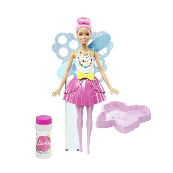 Купить Mattel Barbie DVM95 Барби Феи с волшебными пузырьками Стильная, Кукла Mattel Barbie