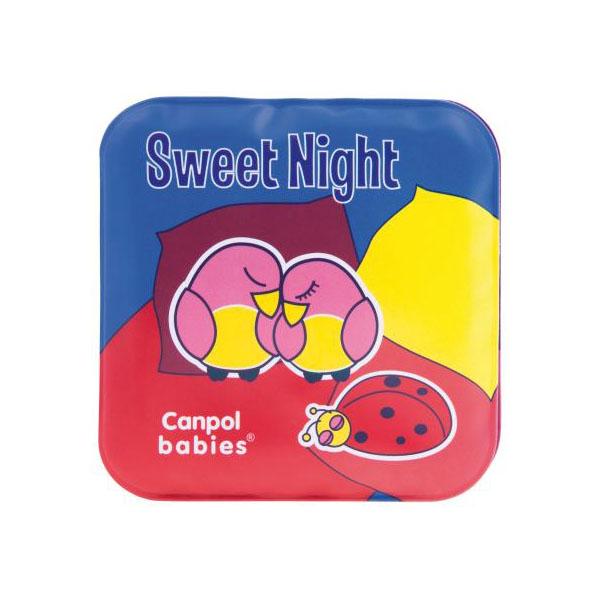Купить Canpol babies 250915020 Книжка мягкая с пищалкой, Day & Night, 2 шт, 6м+, Игрушки для ванной Canpol babies