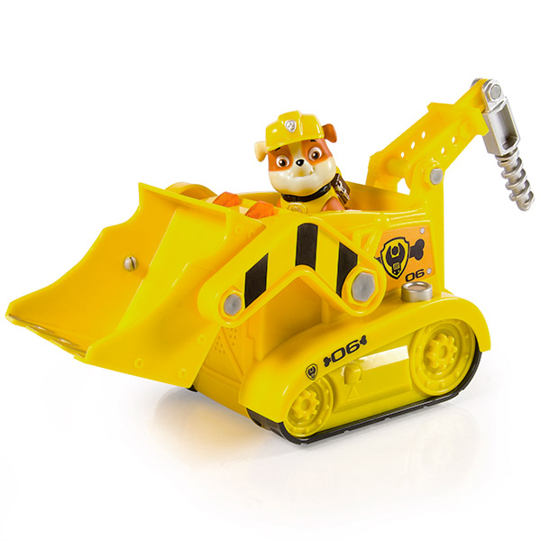 Купить Paw Patrol 16637-y Щенячий патруль Большой автомобиль спасателя со звуком и светом (Крепыш), Фигурка Paw Patrol