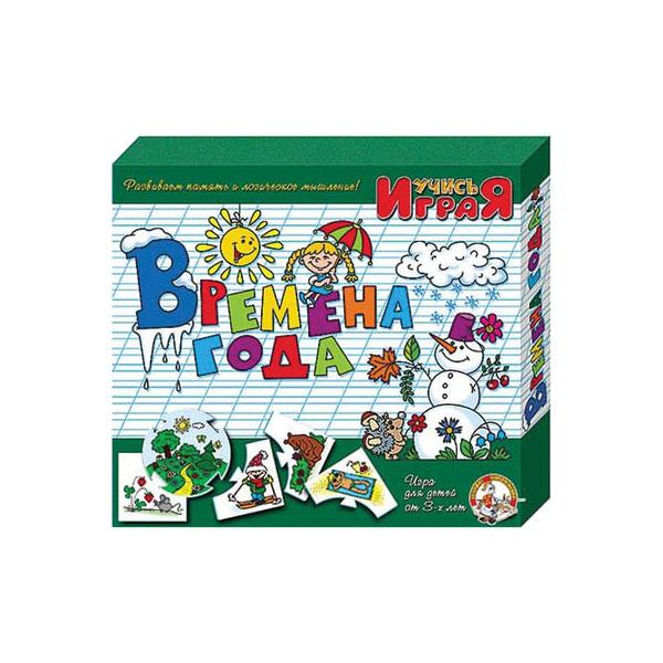 """Развивающие игрушки для малышей Десятое королевство TD00046 Игра обучающая Учись играя """"Времена года"""" фото"""