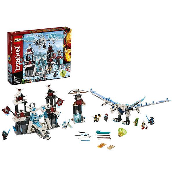 Купить LEGO Ninjago 70678 Конструктор ЛЕГО Ниндзяго Замок проклятого императора, Конструкторы LEGO