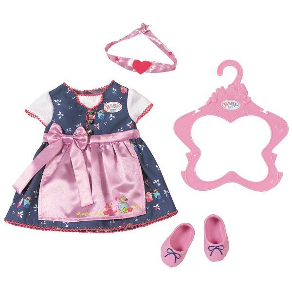 Купить Zapf Creation Baby born 824-504 Бэби Борн Платье с передником, Одежда для куклы Zapf Creation