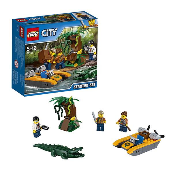 Lego City 60157 Конструктор Лего Город Набор Джунгли для начинающих, арт:149779 - Город, Конструкторы LEGO
