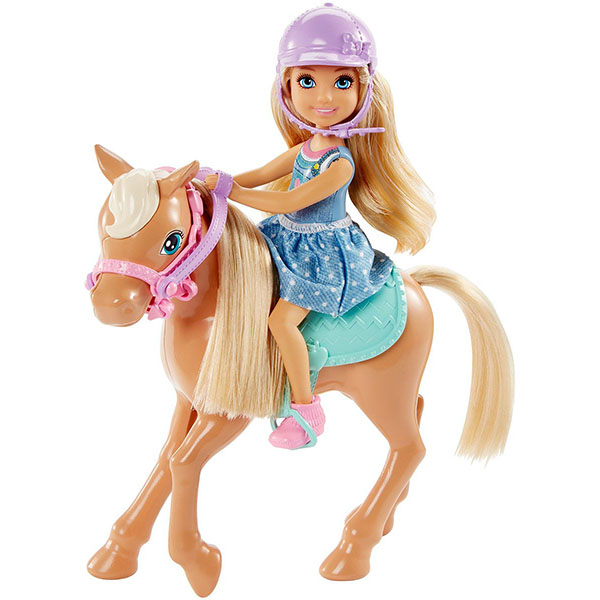 Mattel Barbie DYL42 Барби Кукла Челси и пони, арт:149638 - Barbie, Куклы и аксессуары