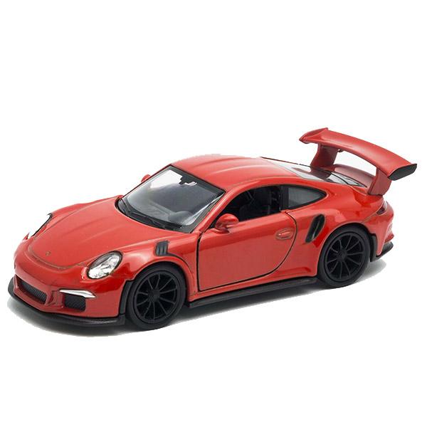 Игрушечные машинки и техника Welly Welly 43746 Велли Модель машины 1:38 Porsche 911 GT3 RS