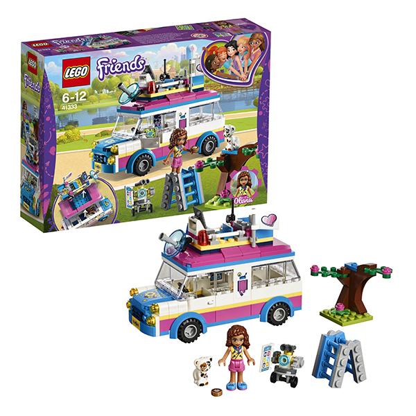 Купить Lego Friends 41333 Лего Подружки Передвижная научная лаборатория Оливии, Конструкторы LEGO