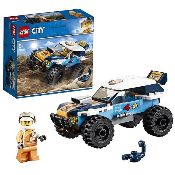 Купить Lego City 60218 Конструктор Лего Город Транспорт: Участник гонки в пустыне, Конструкторы LEGO